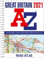 Great Britain A-Z Road Atlas 2021 (A4 Spiral) av A-Z Maps og A-Z maps (Spiral)