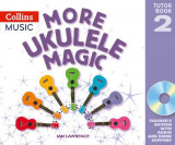 Omslag - More Ukulele Magic: Tutor Book 2 - Teacher's Book (with CD)