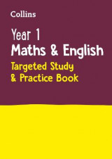 Omslag - Year 1 Maths and English KS1 Targeted Study & Practice Book