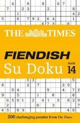Omslag - The Times Fiendish Su Doku Book 14