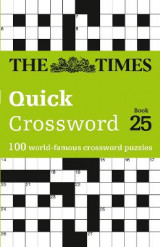 Omslag - The Times Quick Crossword Book 25