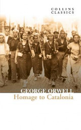 Omslag - Homage to Catalonia