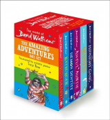 Omslag - The World of David Walliams: The Amazing Adventures Box Set
