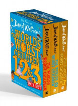 Omslag - The World of David Walliams: The World's Worst Children 1, 2 & 3 Box Set
