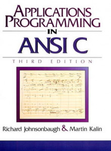 Applications Programming in ANSI C av Richard Johnsonbaugh og Martin Kalin (Heftet)
