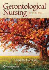 Omslag - Gerontological Nursing