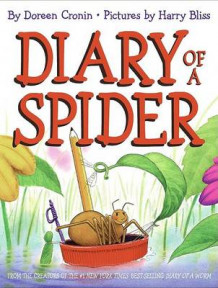 Diary Of A Spider av Harry Bliss og Doreen Cronin (Innbundet)