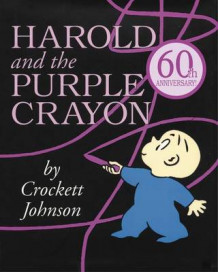 Harold and the Purple Crayon av Crockett Johnson (Innbundet)
