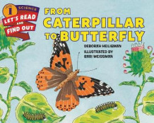 From Caterpillar to Butterfly av Deborah Heiligman (Innbundet)