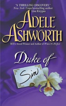 Duke of Sin av Adele Ashworth (Heftet)