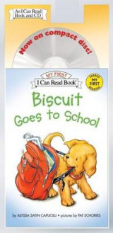 Omslag - Biscuit Goes to School