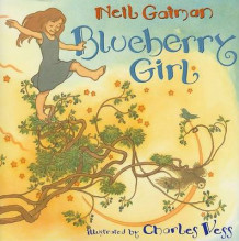 Blueberry girl av Neil Gaiman (Innbundet)