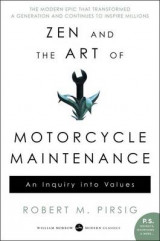 Omslag - Zen and the Art of Motorcycle Maintenance