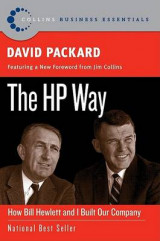 Omslag - The HP Way: How Bill Hewitt And I Built Our Company