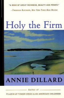 Holy the Firm av Annie Dillard (Heftet)