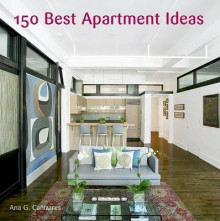 150 Best Apartment Ideas av Ana G. Canizares (Innbundet)