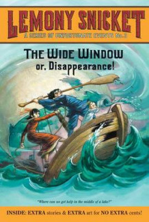 A Series of Unfortunate Events #3: The Wide Window av Lemony Snicket (Heftet)