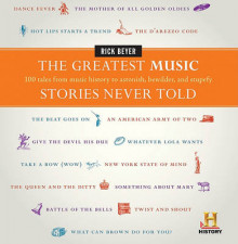 The Greatest Music Stories Never Told av Rick Beyer (Innbundet)