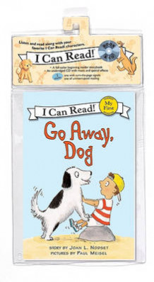Go Away, Dog Book and CD av Joan L Nodset (Lydbok-CD)