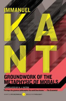 Groundwork of the Metaphysic of Morals av Immanuel Kant (Heftet)