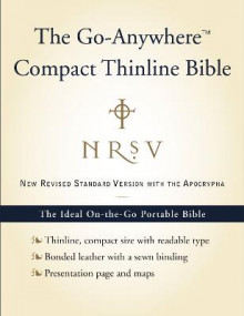 NRSV Go-Anywhere Compact Thinline Bible with the Apocrypha av Harper Bibles (Innbundet)