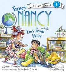 Fancy Nancy and the Boy from Paris Book and CD av Jane O'Connor (Lydbok-CD)
