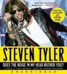 Does The Noise in My Head Bother You? UA CD av Steven Tyler (Lydbok-CD)