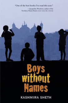 Boys Without Names av Kashmira Sheth (Innbundet)