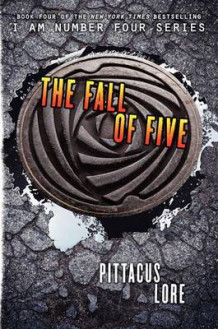 The Fall of Five av Pittacus Lore (Innbundet)