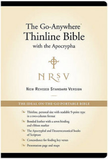 Go Anywhere Thinline Bible with Apocrypha av Zondervan Publishing (Innbundet)