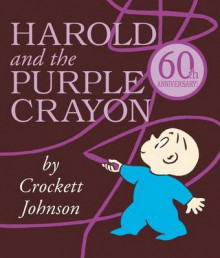 Harold and the Purple Crayon av Crockett Johnson (Pappbok)