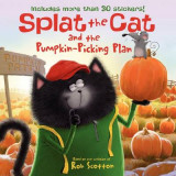 Omslag - Splat the Cat and the Pumpkin-Picking Plan