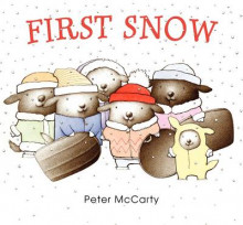 First Snow av Peter McCarty (Innbundet)