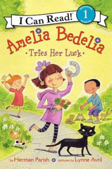 Amelia Bedelia Tries Her Luck av Herman Parish (Innbundet)