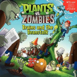 Omslag - Plants vs. Zombies: Brains and the Beanstalk