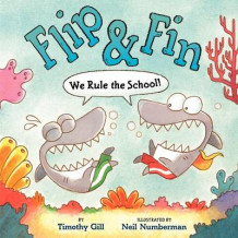 Flip & Fin: We Rule the School! av Timothy Gill (Innbundet)