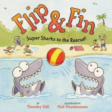 Flip & Fin: Super Sharks to the Rescue! av Timothy Gill (Innbundet)