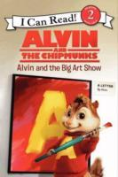Alvin and the Chipmunks: Alvin and the Big Art Show av Jodi Huelin (Heftet)