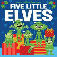 Five Little Elves av Public Domain (Pappbok)