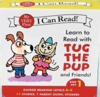 Learn to Read with Tug the Pup and Friends! Box Set 1 av Julie M. Wood (Heftet)