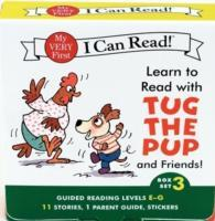 Learn to Read with Tug the Pup and Friends! Box Set 3 av Julie M. Wood (Heftet)