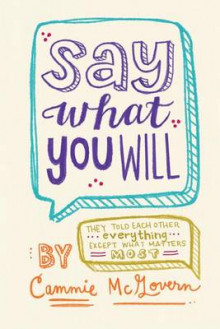 Say What You Will av Cammie McGovern (Innbundet)