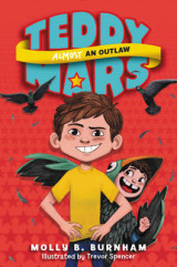 Omslag - Teddy Mars Book #3: Almost an Outlaw