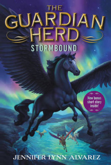 The Guardian Herd: Stormbound av Jennifer Lynn Alvarez (Heftet)