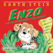 Enzo and the Christmas Tree Hunt! av Garth Stein (Innbundet)