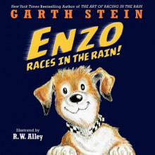 Enzo Races in the Rain! av Garth Stein (Innbundet)