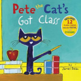 Omslag - Pete the Cat's Got Class