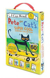 Pete The Cat's Super Cool Reading Collection av James Dean (Innbundet)