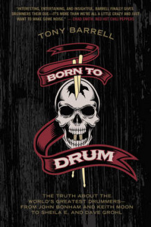 Born to Drum av Tony Barrell (Heftet)