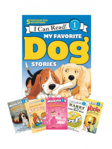 My Favorite Dog Stories: Learning to Read Box Set av Jan Berenstain, Ree Drummond, Grace Gilman, Victoria Kann og Gene Zion (Heftet)
